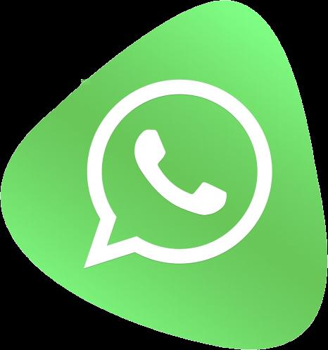 Logo de whatsapp como canal de comunicación y contacto con Inmobelt Asesores SL